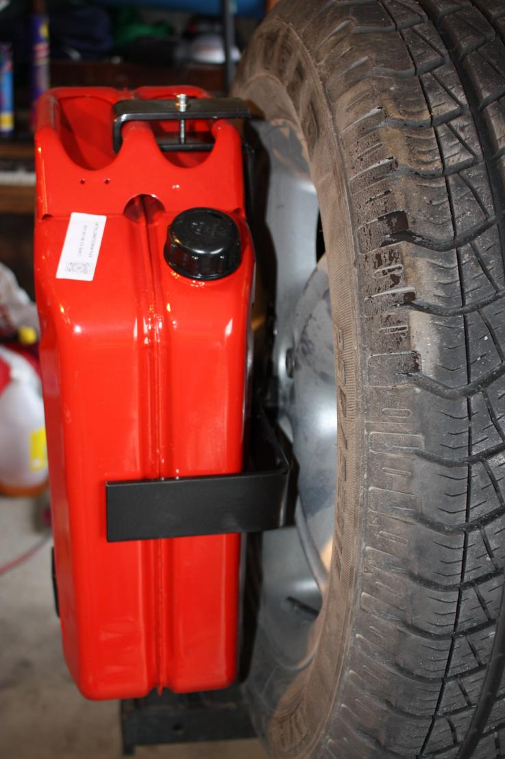 Spare Tire Jerry Can Mount : spare, jerry, mount, Spare, Jerry, Holder, Rover, Forums, Enthusiast, Forum