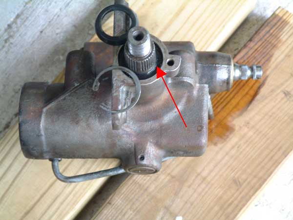 Steering Box leak FIX  Land Rover Forums  Land Rover