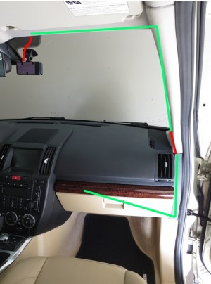 Dash Cam wiring for LR2  Land Rover Forums  Land Rover Enthusiast Forum