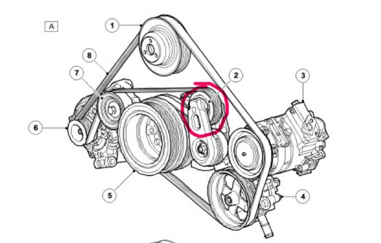 [Diagram To Install Serpentine Belt 2008 Land Rover Range