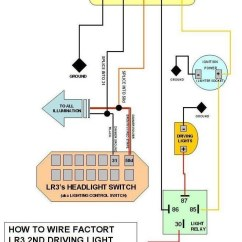 Wiring Diagram Driving Lights Relay Christmas Light Coldplay Lyrics Offroad - Land Rover Forums Enthusiast Forum