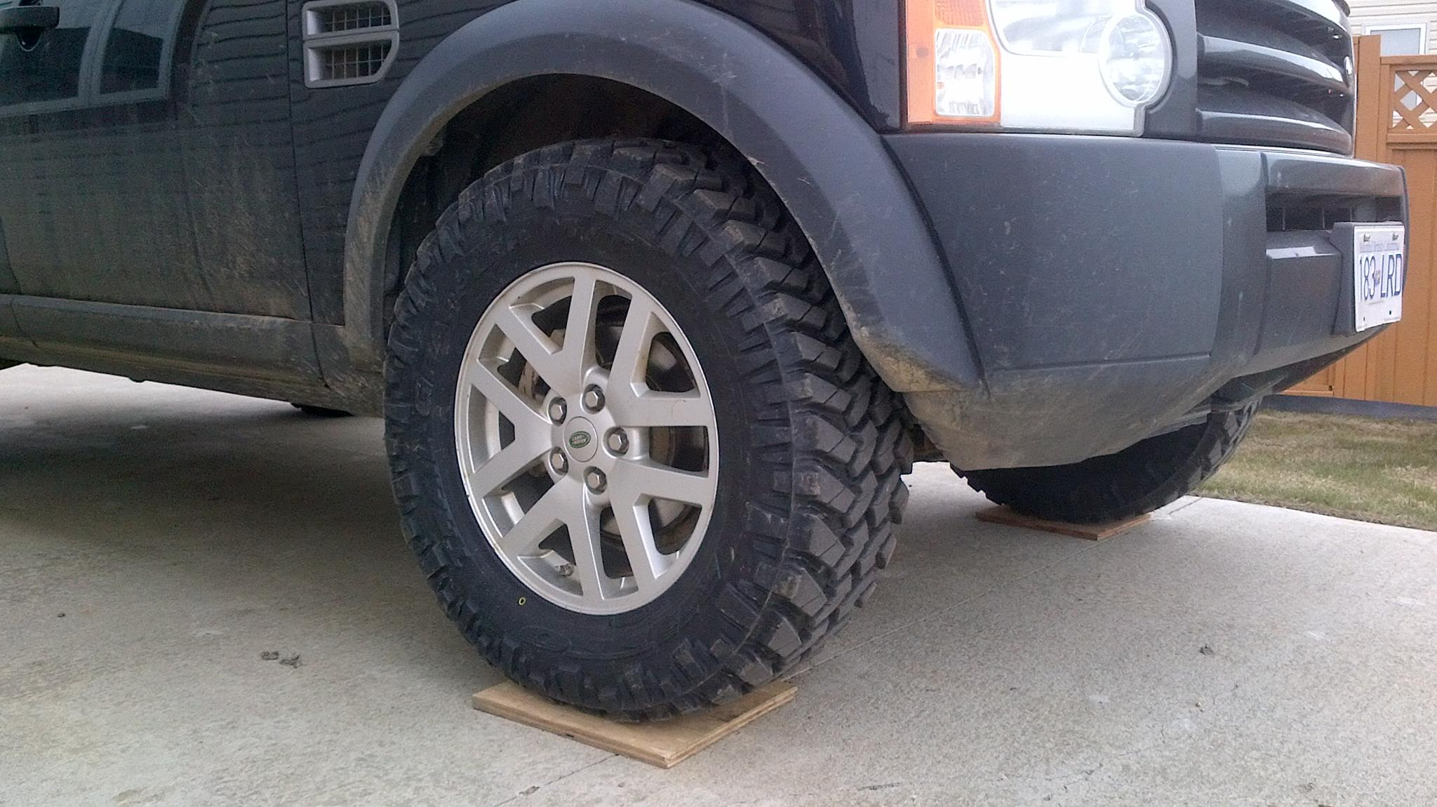 LR3 Wheel Spacer Adapters Land Rover Forums Land Rover