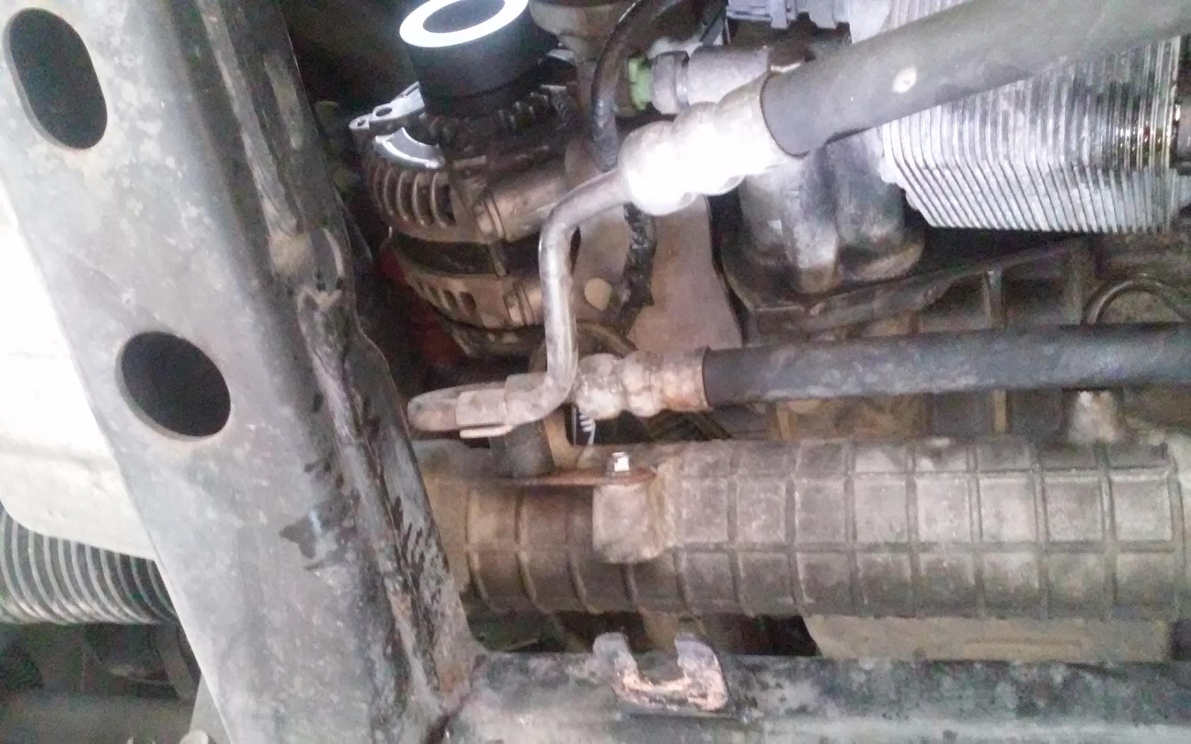 Engine coolant leak near oil engine oil cooler Land Rover Forums