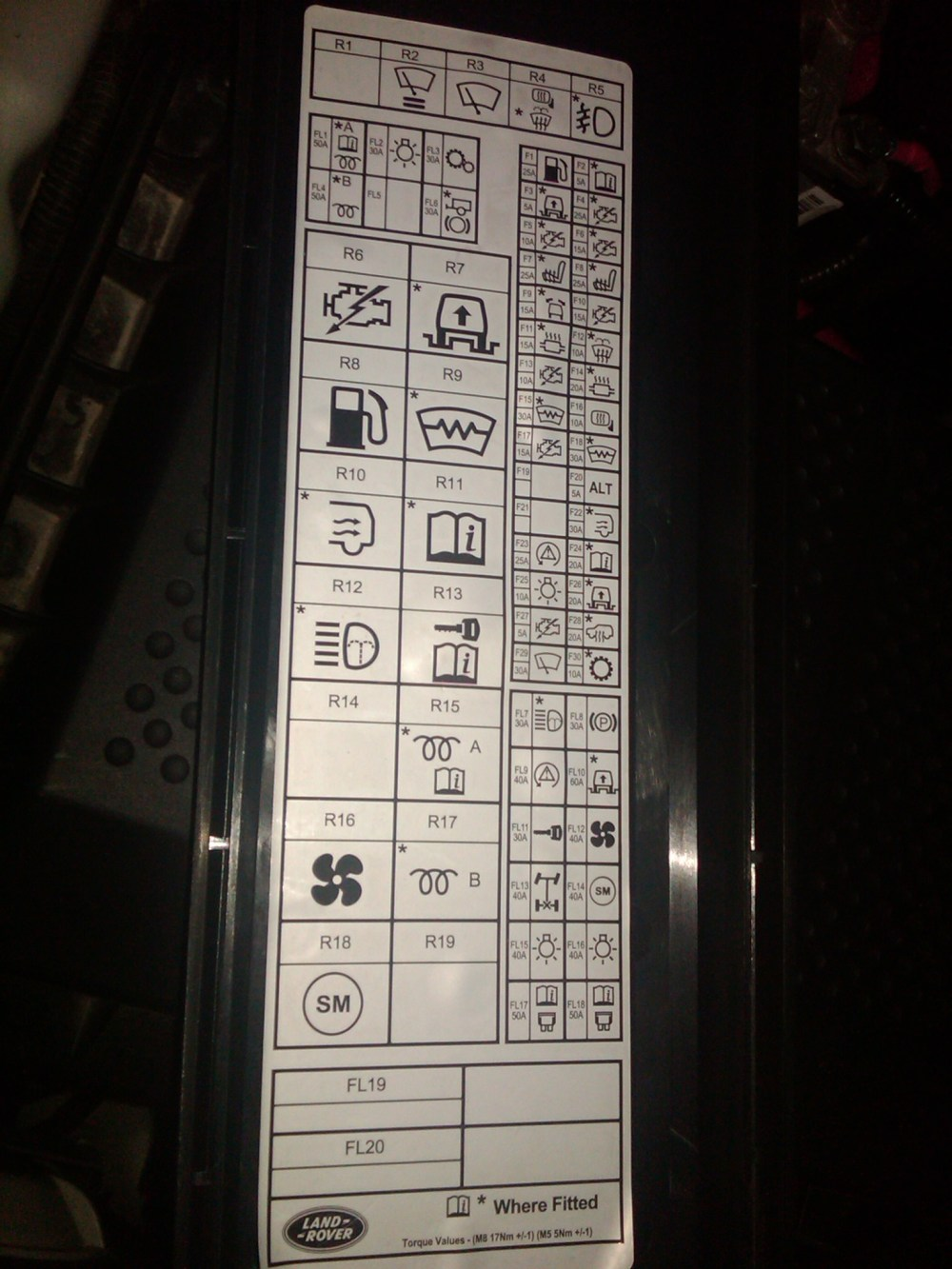 medium resolution of freelander 2 fuse box location