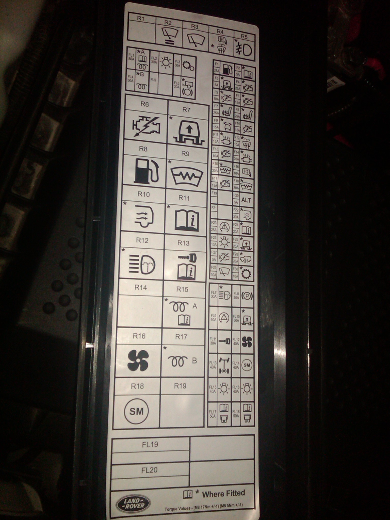 hight resolution of 03 range rover fuse box