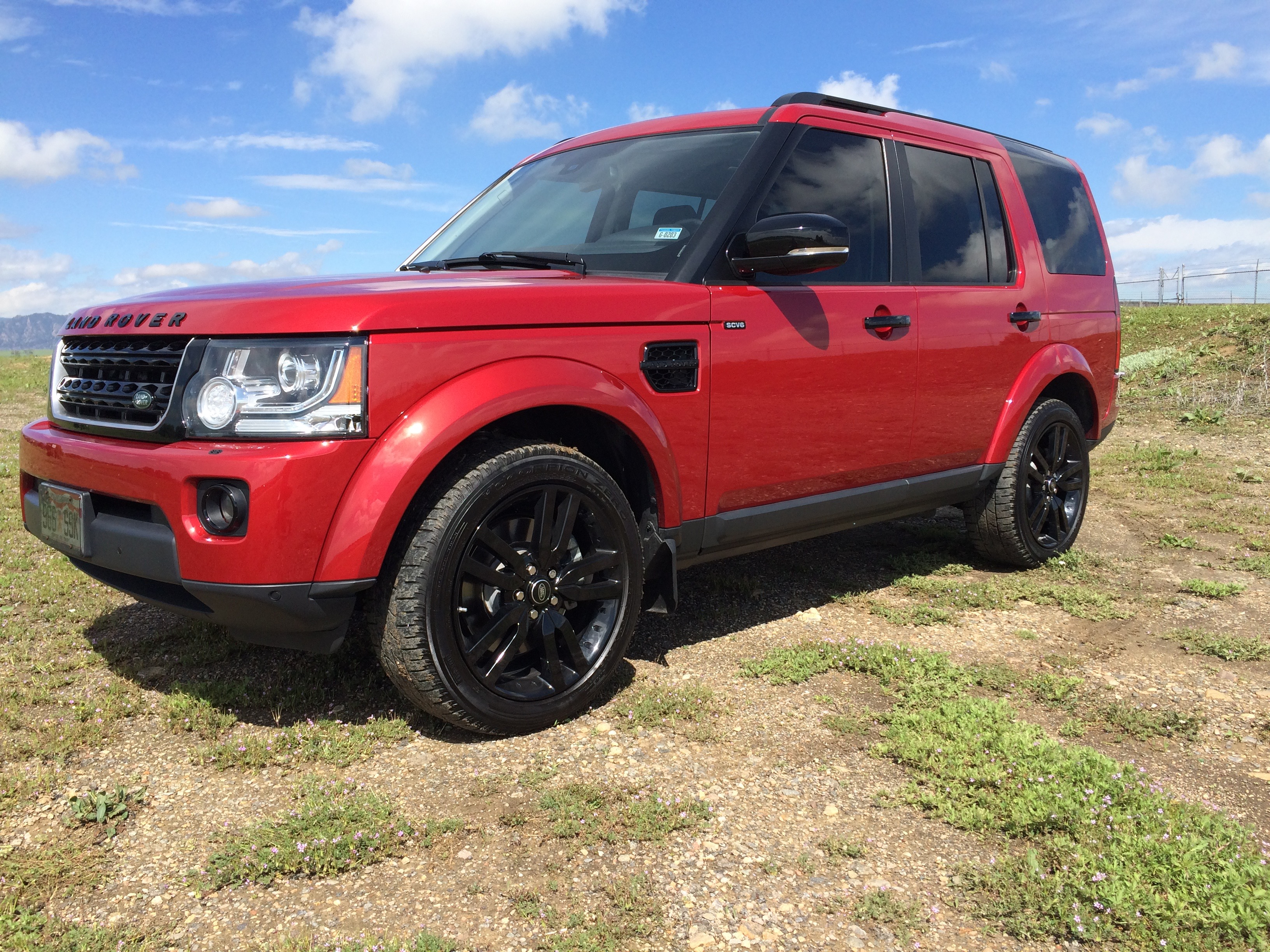 """2014 LR4 Firenze Red w 20"""" Black Package Land Rover Forums"""