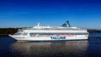 Silja Europa floating hotel for G7 Summit Cornwall