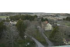 Finfin utsikt över bygden.