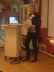 Karin Linkhorst från Linköping delger erfarenheter från sitt arbete med att lyfta servicefrågorna.