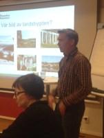 Andreas Gylling från Kramfors berättar om hur de tagit fram sitt landsbygdsprogram. De har identifierat vilket dialogverktyg som passar bäst för just den målgruppen som man vill nå.