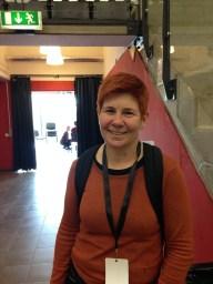 """Ann Holst från """"bygd och stad i balans"""" i Örnsköldsvik var en av de nya bekantskaper som jag fick. http://www.bygdostad.se/"""