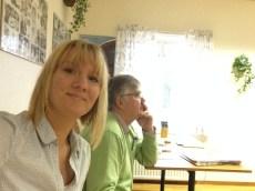 Dagens två moderatorer - Jag och Hans.