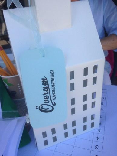Ett litet vitt hus var priset i tipspromenaden.
