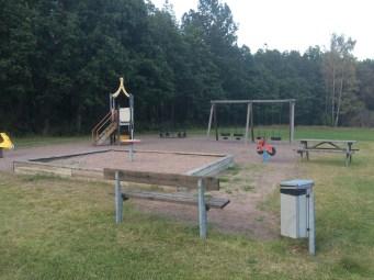 En lekplats som vi besökte.