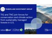 The Nature Conservancy and the BTG Pactual Timberland Investment Group join forces to pursue climate action and conservation on more than $850 million of timberland assets in the U.S.