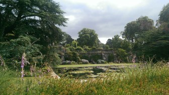 Grounds at Bodnant House