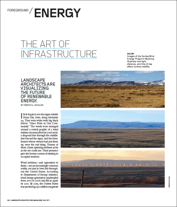 Landscape architects are visualizing the future of renewable energy.