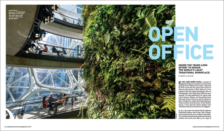 Open Office Landscape Architecture Magazine