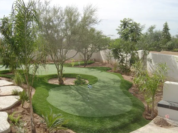 synthetic grass artificial putting