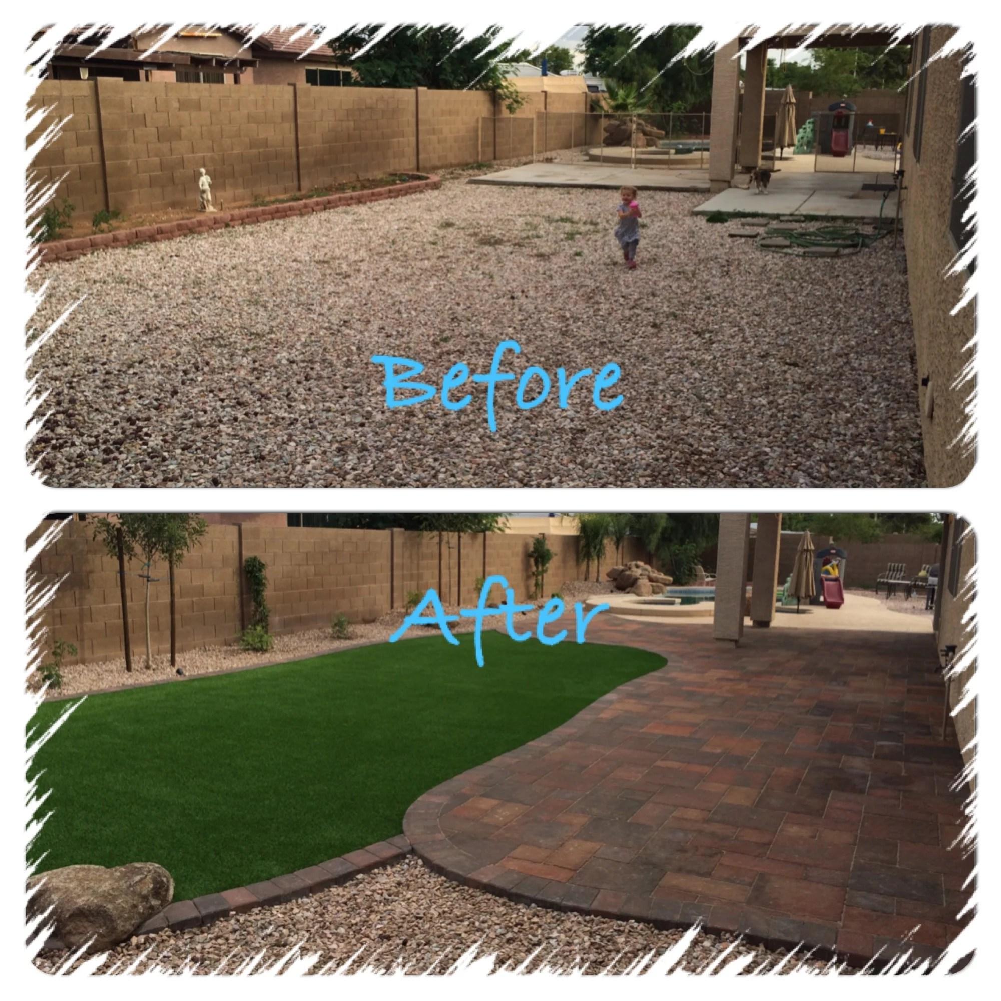 Yard Remodel Archives  Arizona Living Landscape  Design