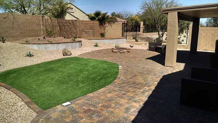 Arizona Backyard Landscaping Design