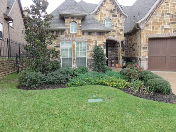 front garden ideas tx homes