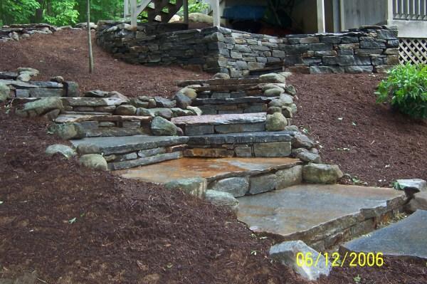 stonewalls & steps hardscape