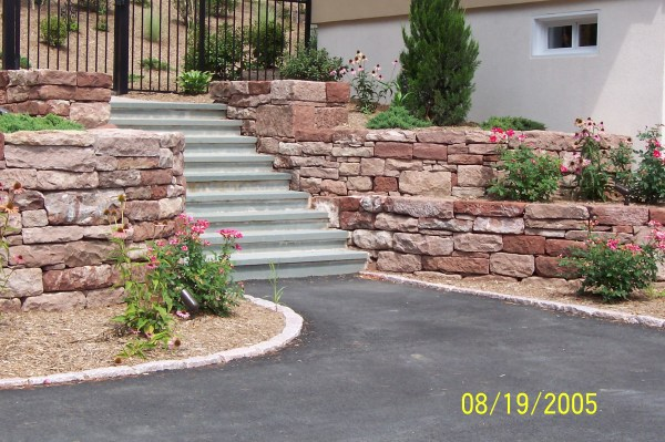 landscape design brick paver patio