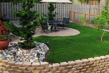 cheap backyard ideas landscaping