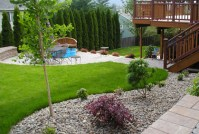 Small Yard Landscaping Ideas Pictures Designs Plans