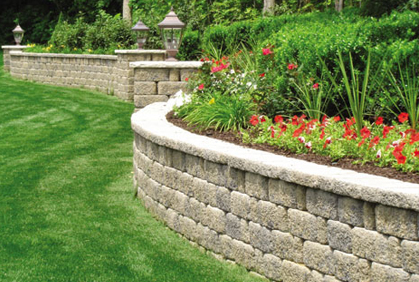 retaining wall blocks 2016 landscape