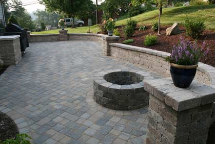 Awesome Paving Patio Ideas Images Home Decorating Ideas