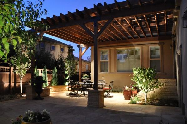Tuscan Outdoor Patio Lighting
