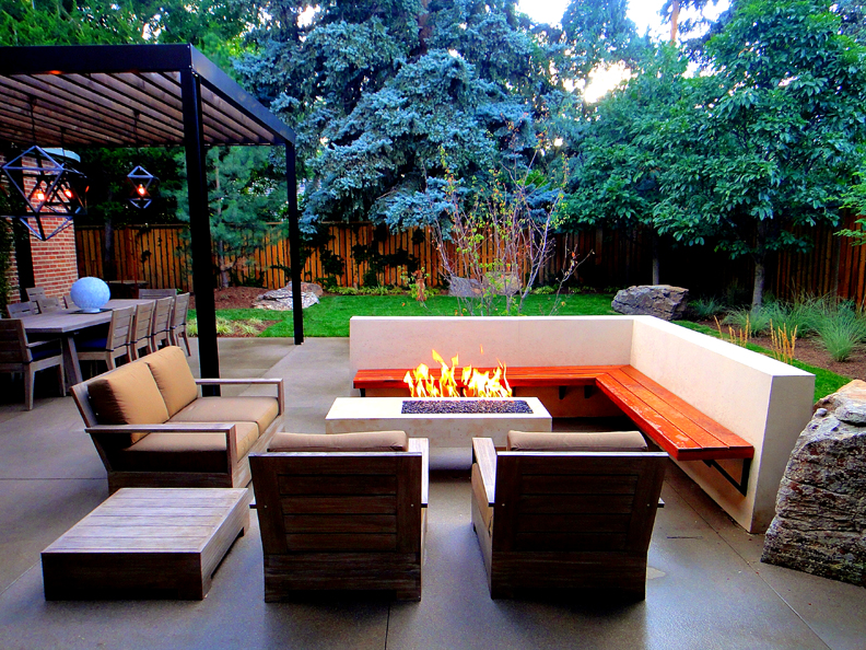 Modern Patio Landscape