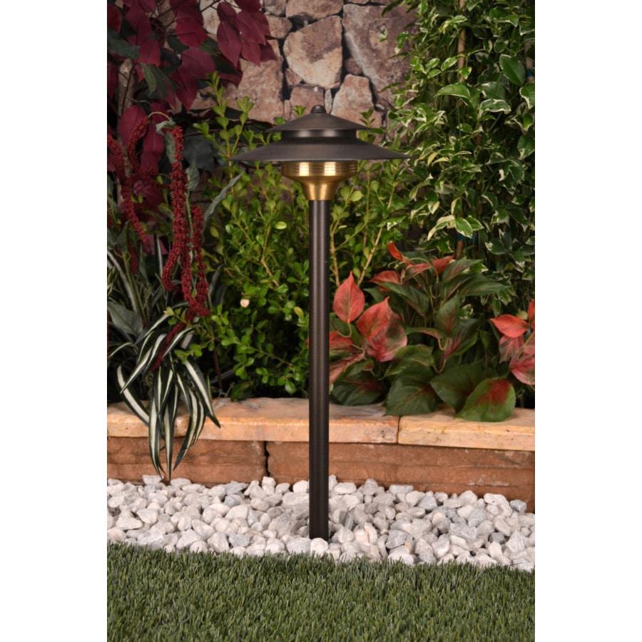 unique lighting systems saturn 112 volt brass path light