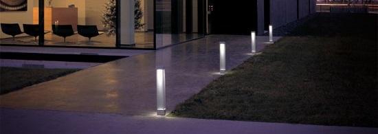 modern outdoor path lighting