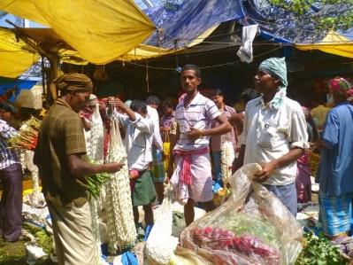 Kolkata flower market5