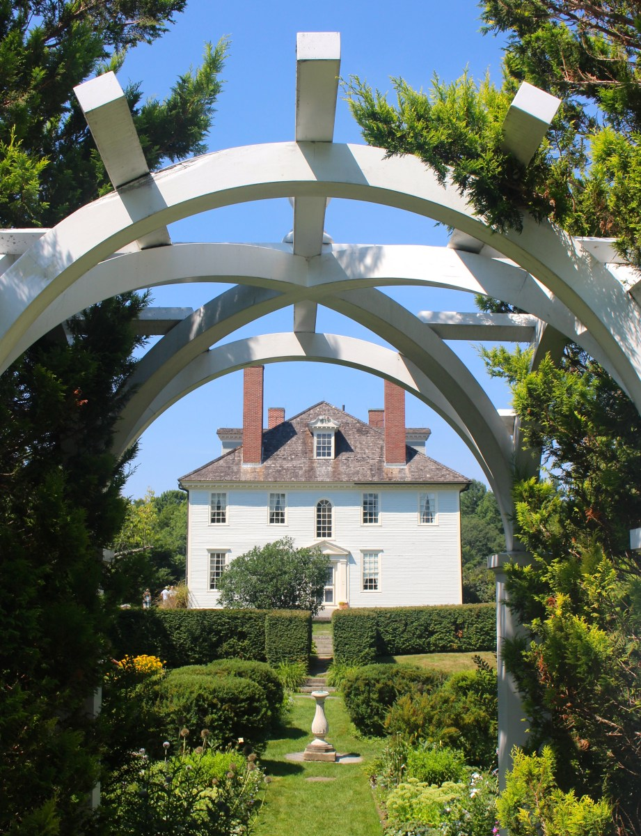 The Gardens at Hamilton House: South Berwick, Maine