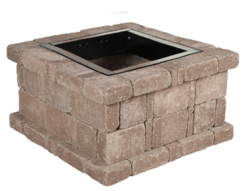 Pavestone RumbleStone Fire Pit Kit 1