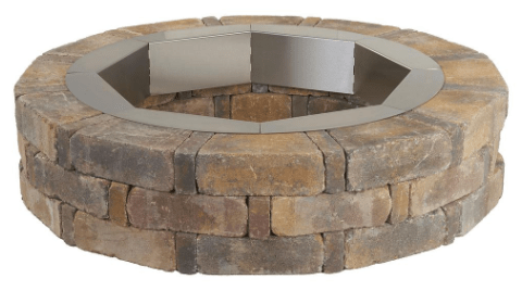 RumbleStone Round Concrete Fire Pit Kit