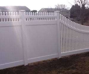 Fencing by Landscape Solutions and Maintenance