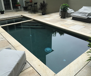 Hardscapes and Pool Borders by Landscape Solutions & Mainatenance