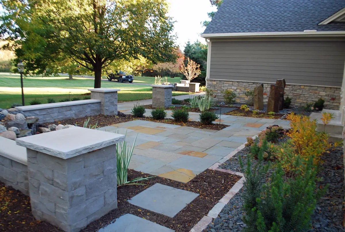 Front Entry Landscaping West Lakeland Landscapes Unlimited