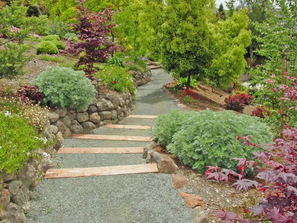 hillside landscaping - landscapes