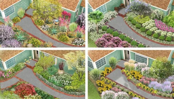4 creative front yard landscaping