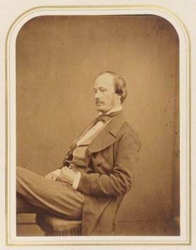 Norton Shaw by Maull & Polyblank, 1855.