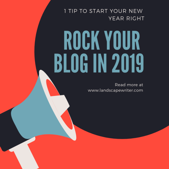 New Year's Day Blogging Tip