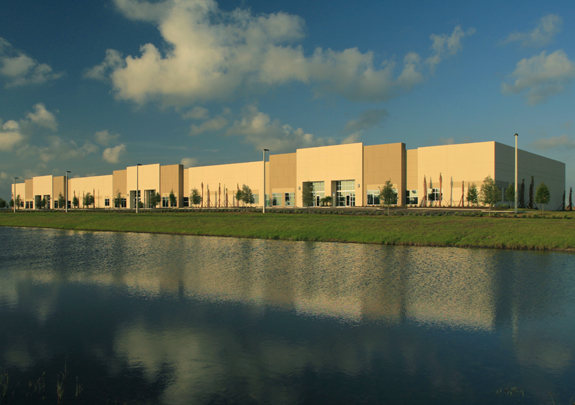 office & industrial park landscaping