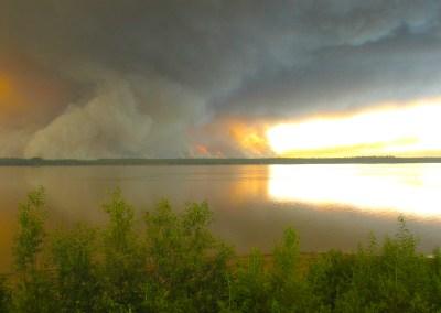 Wildfire in Alaska