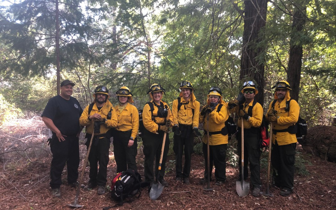 Native Stewards and the state agency CalFire do prescribed burning in collaboration